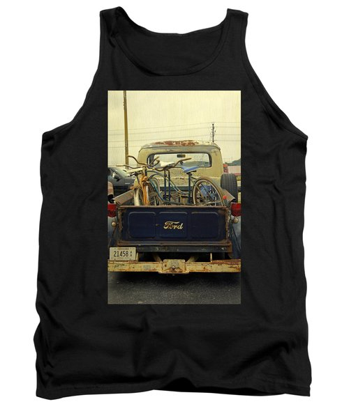Rusty Haul Tank Top by Laurie Perry