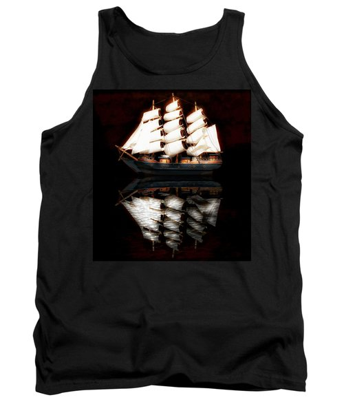 Tank Top featuring the photograph Sail Away by Aaron Berg