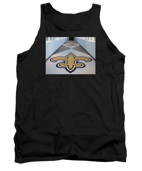 Saints Are Coming - Benson Towers - New Orleans La Tank Top