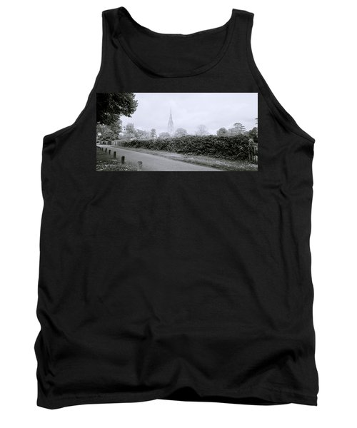 Salisbury Cathedral Tank Top by Shaun Higson