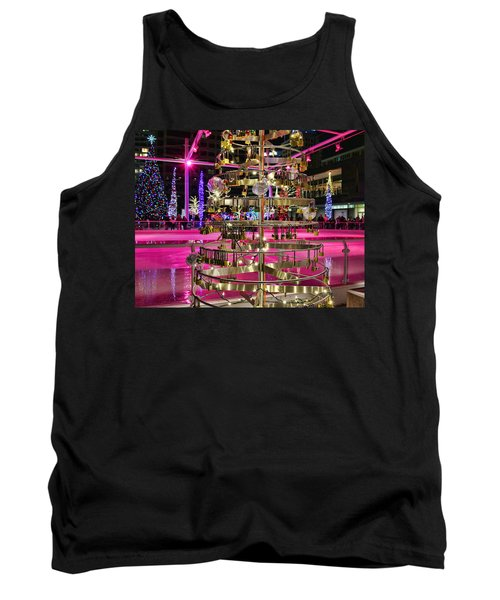 Tank Top featuring the photograph Salt Lake City - Skating Rink - 1 by Ely Arsha