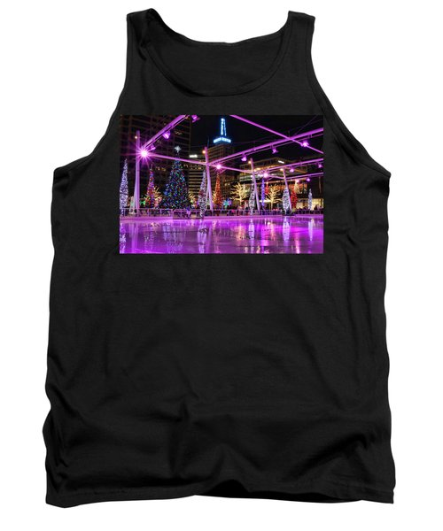 Tank Top featuring the photograph Salt Lake City - Skating Rink - 2 by Ely Arsha