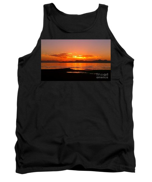 Salt Lakes A Fire Tank Top by Chris Tarpening