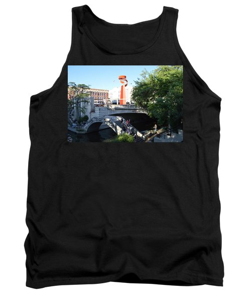 Tank Top featuring the painting San Antonio River 01 by Shawn Marlow