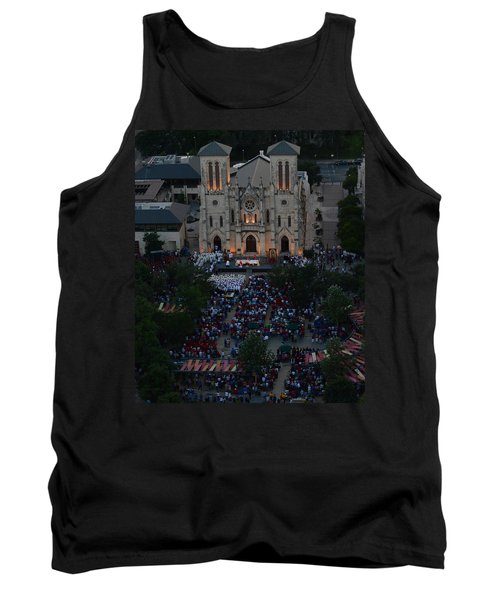 San Fernando Cathedral 001 Tank Top