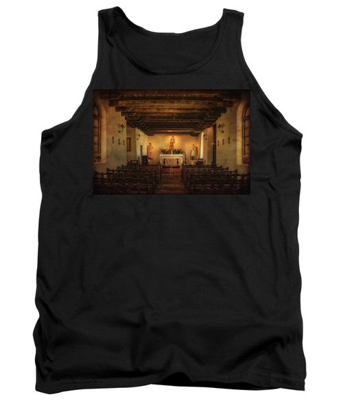 Tank Top featuring the photograph Sanctuary by Priscilla Burgers