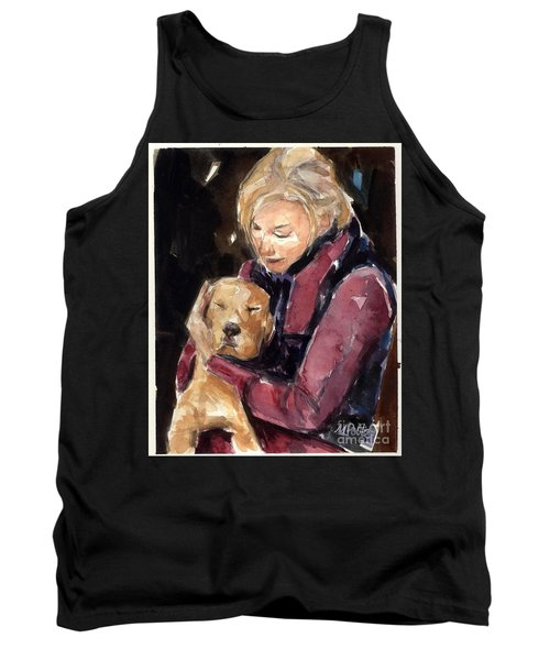 Sandy Grace And Me Tank Top by Molly Poole