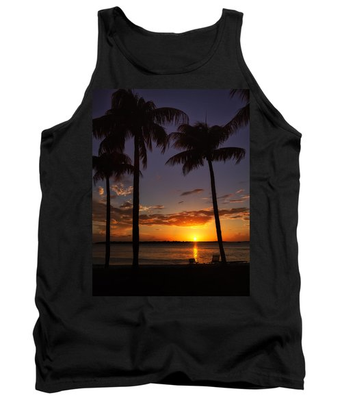 Sanibel Island Sunset Tank Top