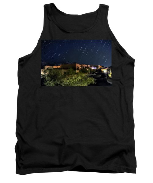 Tank Top featuring the photograph Santa Catalina Mountain Startrails by Dan McManus
