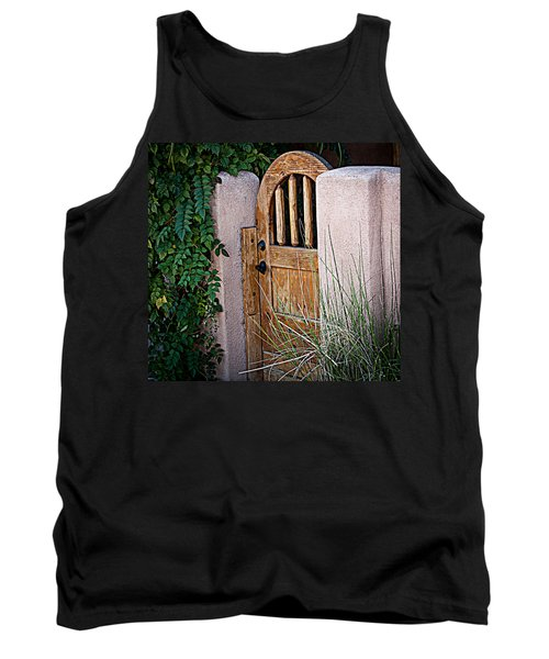 Tank Top featuring the photograph Santa Fe Gate by Patrice Zinck