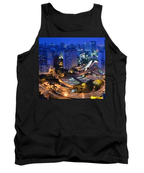 Sao Paulo Skyline - Downtown Tank Top