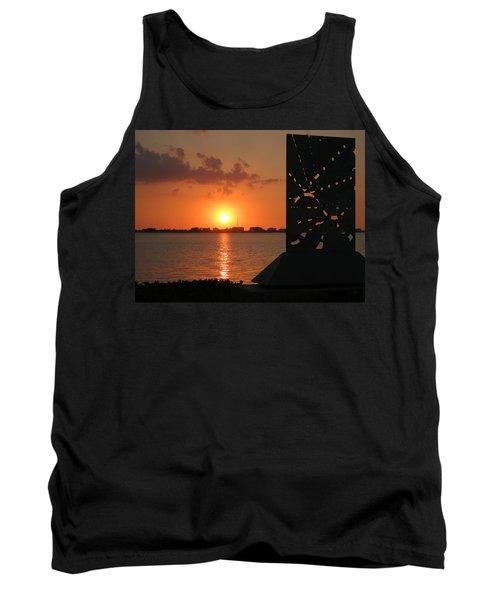Sarasota Bay Sunset Tank Top