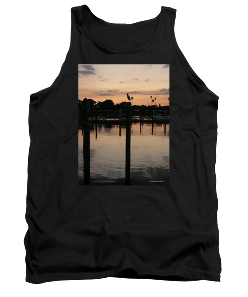 Tank Top featuring the photograph Sarasota Sunset by Emmy Marie Vickers