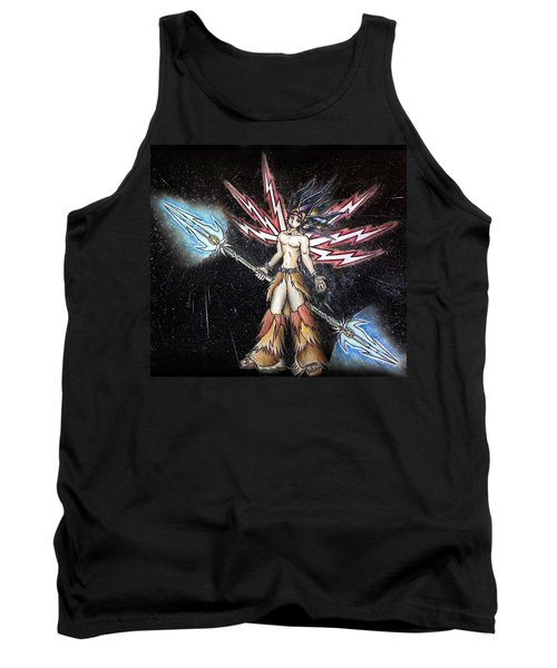 Satari God Of War And Battles Tank Top