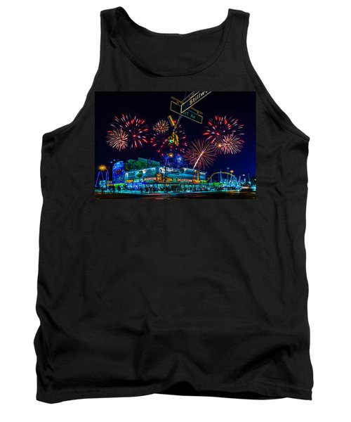 Saturday Night At Coney Island Tank Top