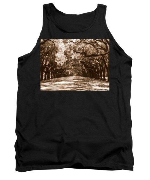 Savannah Sepia - The Old South Tank Top