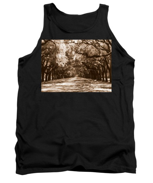 Savannah Sepia - The Old South Tank Top