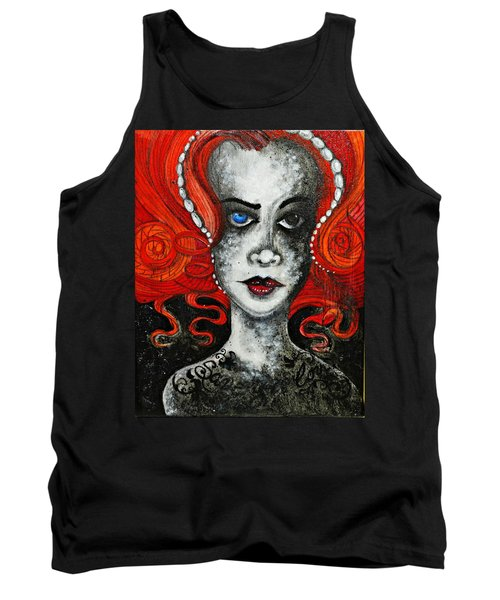 Tank Top featuring the painting Save Your Love by Sandro Ramani