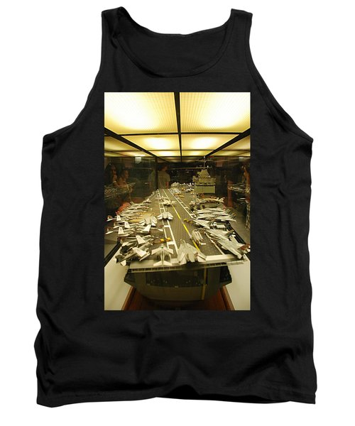 Scale Model Aircraft Carrier Tank Top