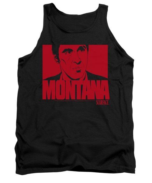 Scarface - Montana Face Tank Top