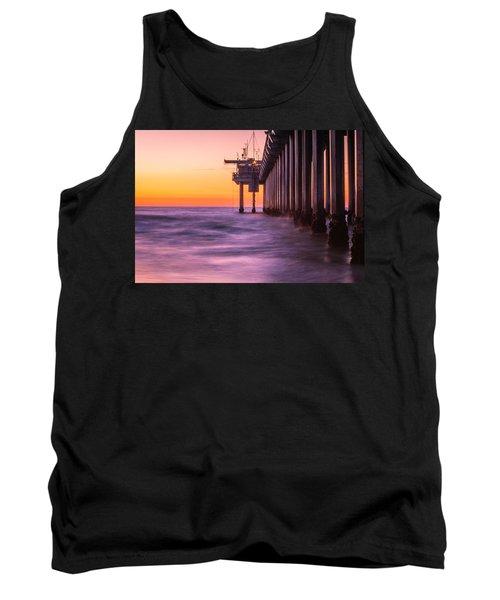 Scripps Pier Sunset Tank Top