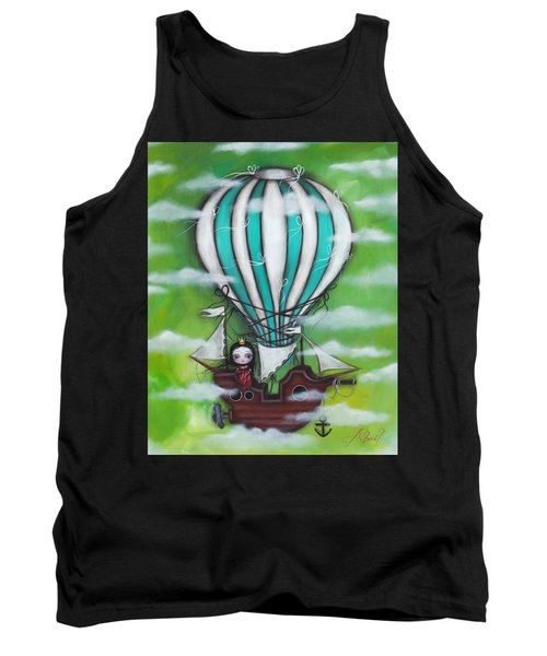 Sea Of Clouds Tank Top by Abril Andrade Griffith