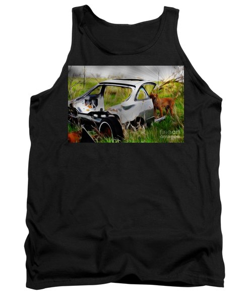 Search And Rescue Tank Top by Liane Wright