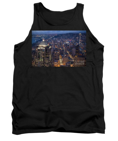 Seattle Urban Details Tank Top by Mike Reid