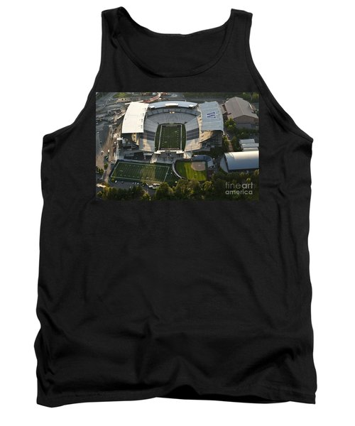 Seattle With Aerial View Of The Newly Renovated Husky Stadium Tank Top