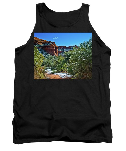 Tank Top featuring the photograph Sedona Arizona - Wilderness Area by Bob and Nadine Johnston