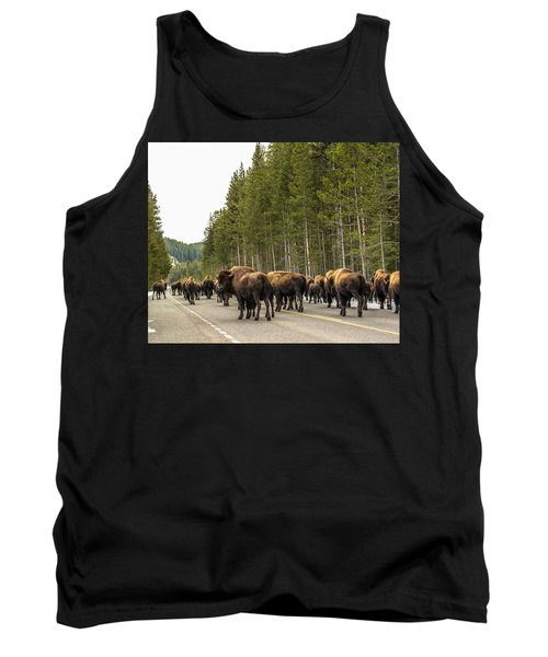 Tank Top featuring the photograph See You In Spring by Yeates Photography