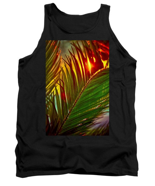 Sego Frond Fire Tank Top