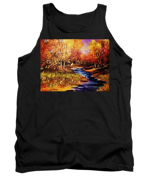 The Brilliance Of Autumn Tank Top