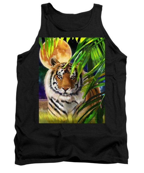 Second In The Big Cat Series - Tiger Tank Top