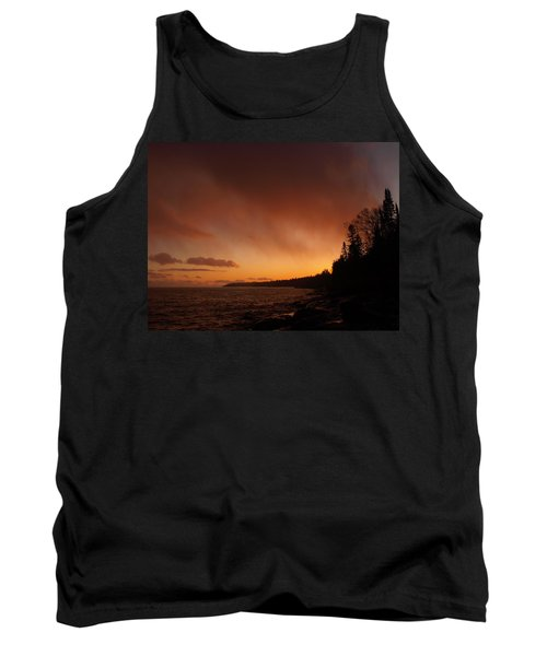 Set Fire To The Rain Tank Top by James Peterson