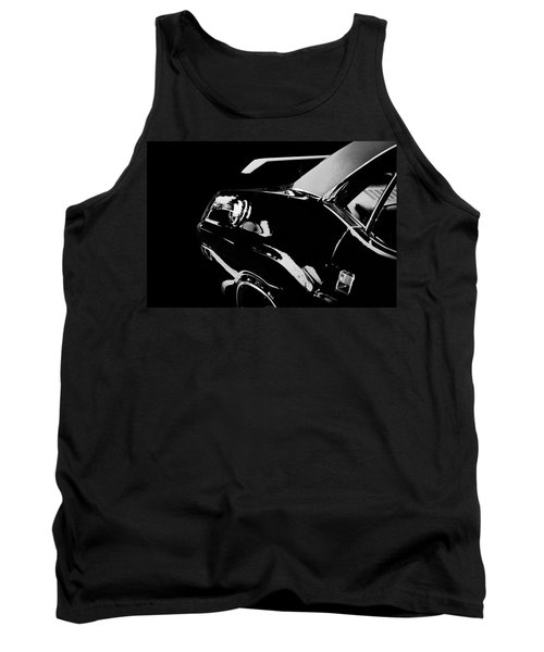 Hot Rod Tank Top featuring the photograph Shadow Of American Muscle by Aaron Berg