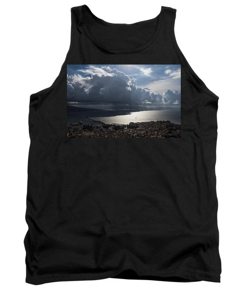 Tank Top featuring the photograph Shadows Of Clouds by Georgia Mizuleva