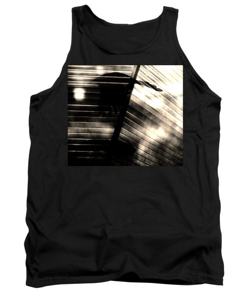Tank Top featuring the photograph Shadows Symphony  by Jessica Shelton