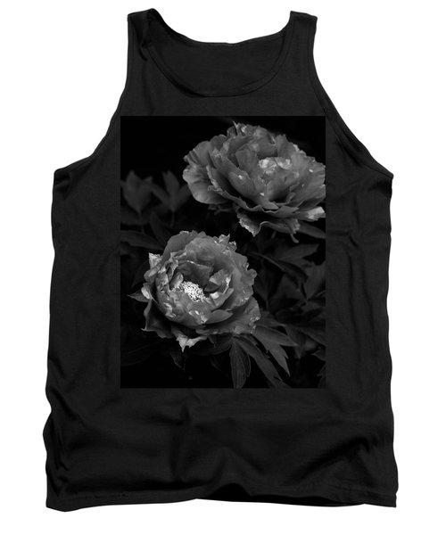 Tank Top featuring the photograph Shakuyaku by Rachel Mirror