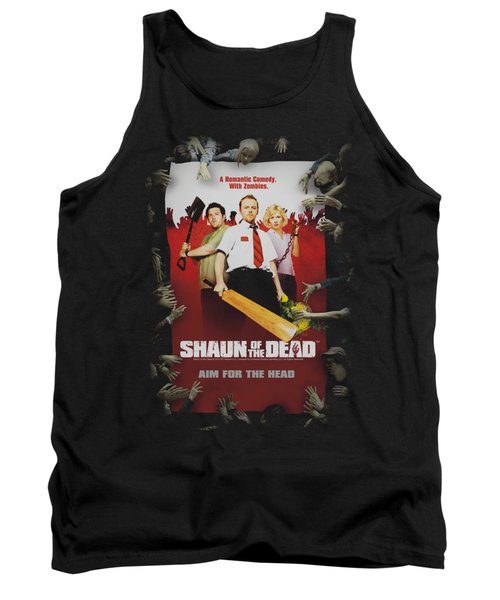 Shaun Of The Dead - Poster Tank Top