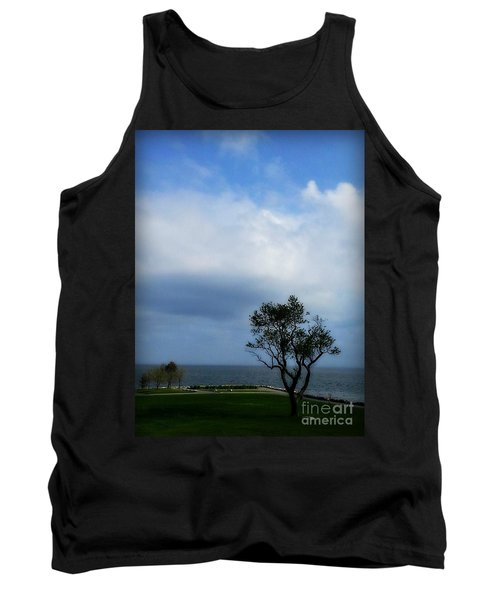 Tank Top featuring the photograph Sherwood Island by Kristine Nora