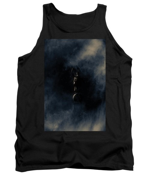Tank Top featuring the photograph Shine Forth In Darkness by Greg Collins