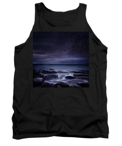 Shining In Darkness Tank Top by Jorge Maia