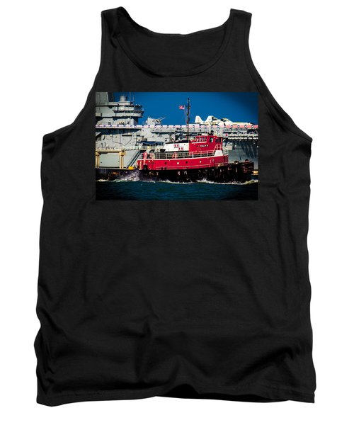 Shipping Lane Hero Tank Top