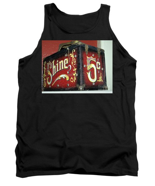 Shoe Shine Kit Tank Top by Pamela Walrath