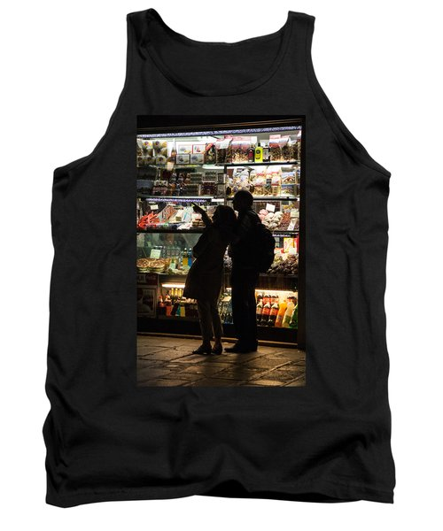 Tank Top featuring the photograph Shop by Silvia Bruno