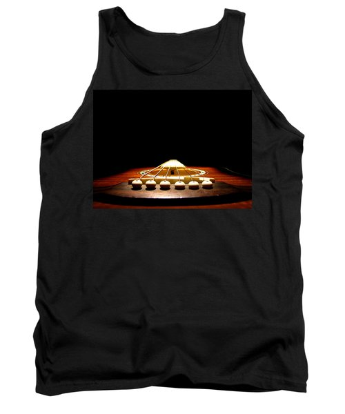 Tank Top featuring the photograph Silent Guitar by Greg Simmons