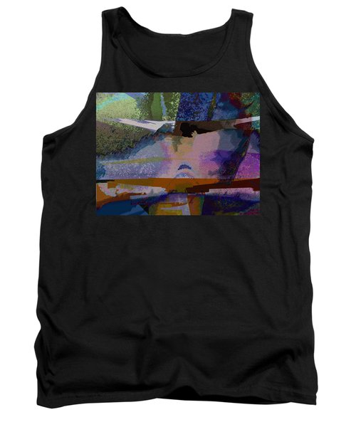 Tank Top featuring the photograph Silhouette And Shadows by David Pantuso