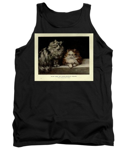 Silver Tabby And Orange And White Persians Tank Top