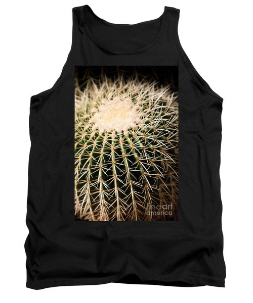 Single Cactus Ball Tank Top
